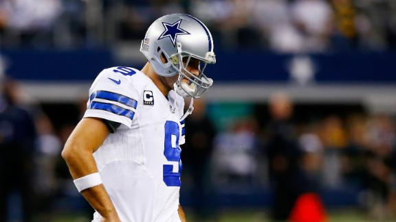 Cowboys' Jones refuses to rule out Romo