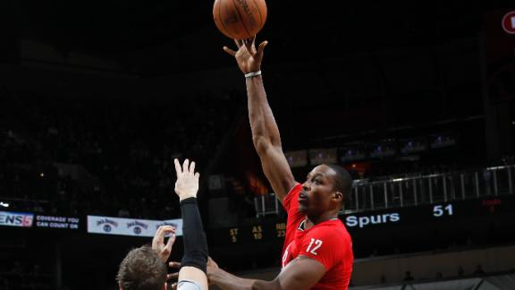 Harden's 28 help Rockets knock off Spurs