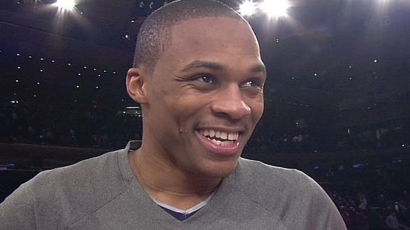 Video - Westbrook On Thunder's Win