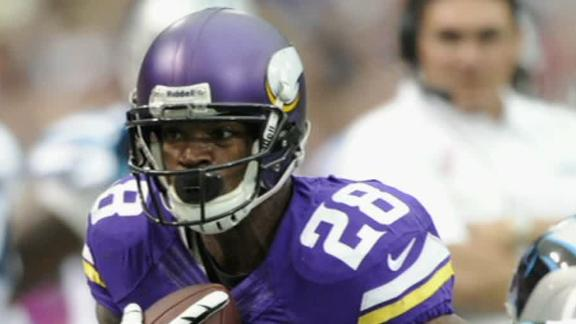 Vikings' Peterson (groin) doubtful for finale