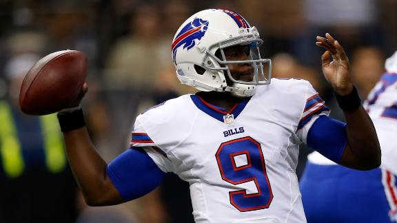 QB Manuel is no-go for Bills; Lewis to start