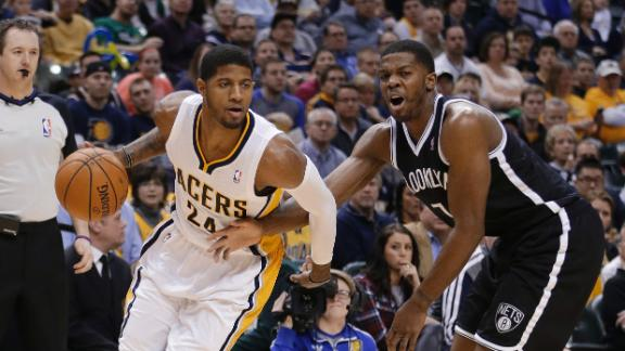 George, East-best Pacers pull away from Nets