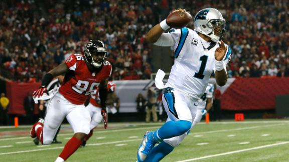 Cam helps Panthers clinch NFC South title