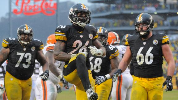 Video - Bell, Steelers Crush Browns