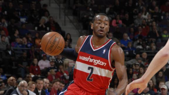 Video - Wall Powers Wizards Past Pistons