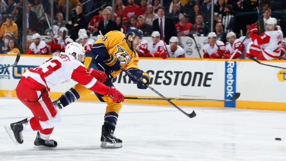 Video - Wilson's Two Goals Propel Predators