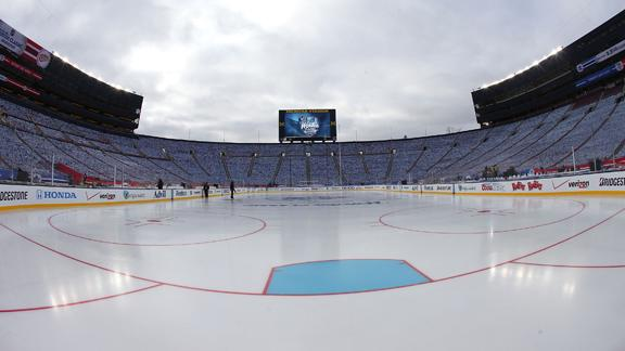 Video - Big House Set For Winter Classic