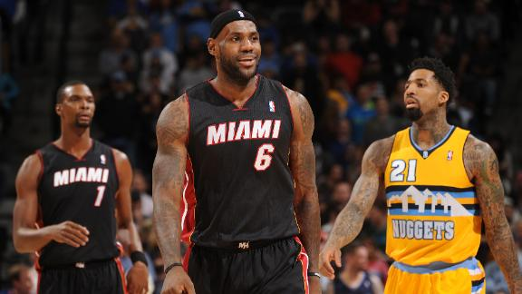 Video - Heat Win Thriller On LeBron's Birthday