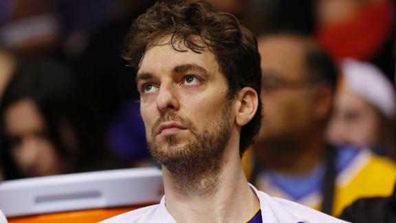 Lakers' Gasol to make return against Bucks