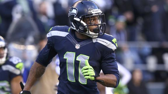 Seahawks' Harvin (hip) returns to practice