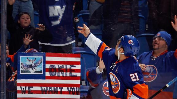 Video - Islanders Top Blackhawks In OT