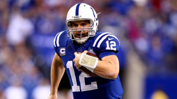Luck-led Colts rally from 28 down, stun Chiefs