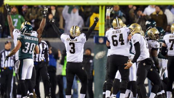 Video - Upon Further Review: Saints vs. Eagles