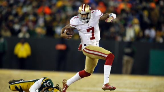 Video - Kaepernick Comes Up Big For 49ers