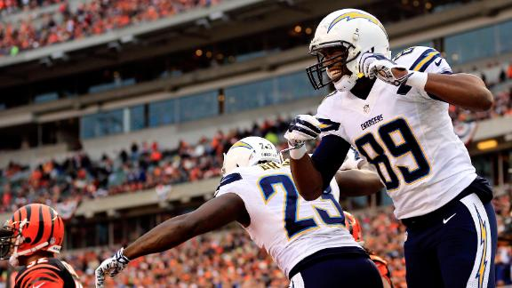 Chargers extend Bengals' playoff drought