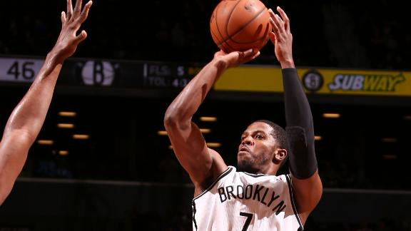 Johnson, Nets down Hawks, win 3rd straight