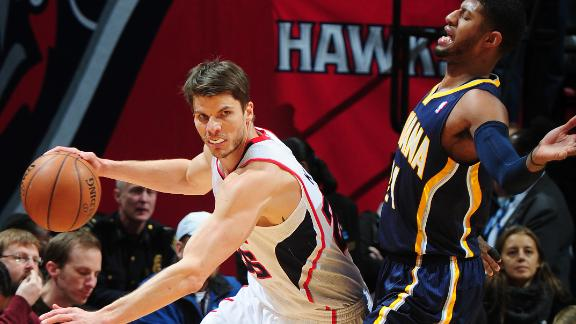 Video - Korver Leads Hawks Past Pacers