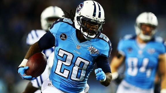 Johnson says Titans are 'wasting' his prime