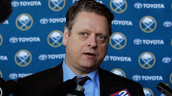 Sabres name Senators' Tim Murray new GM