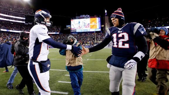 Brady embracing underdog role vs. Broncos