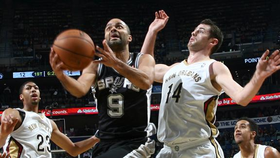 Video - Spurs Fight Off Pelicans