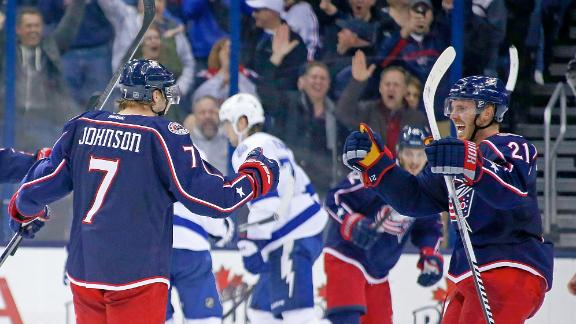 Video - Blue Jackets Rally To Edge LIghtning