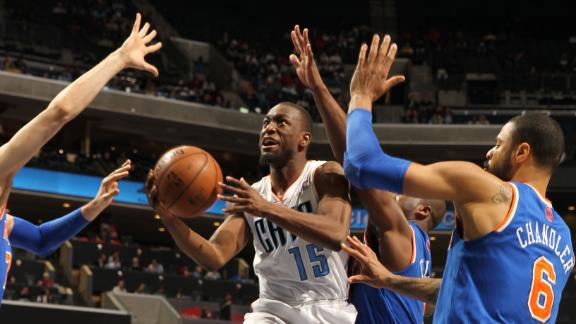 Video - Bobcats Snap Knicks' Winning Streak