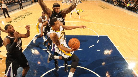 Video - George Leads Pacers Past Kings
