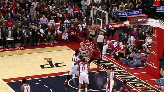 Video - Greg Oden Throws Down A Jam, First Basket Since 2009