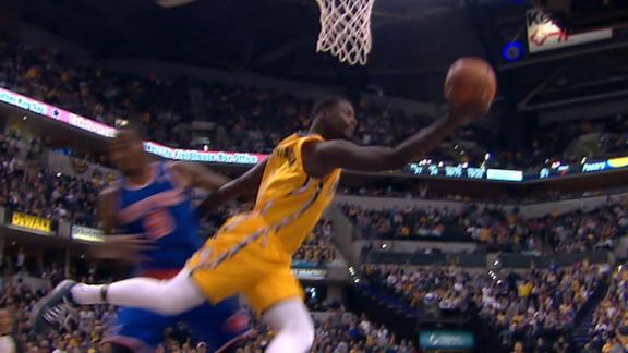 Pacers knock around Knicks, up home streak