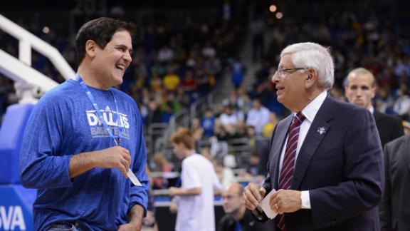 Mark Cuban of Dallas Mavericks wants fine before David Stern ex…