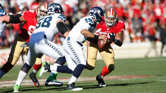 Video - Inside the Huddle: LB Ahmad Brooks, Ties 49er's record