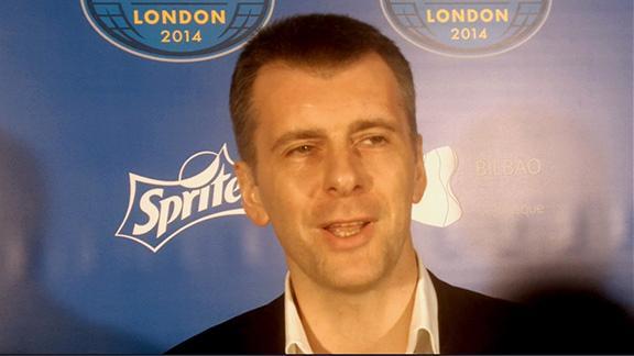 Video - Prokhorov Speaks With Media In London