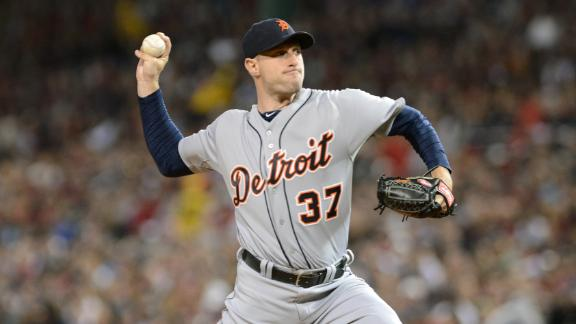 Scherzer, Tigers agree at $15.5M for 1 year
