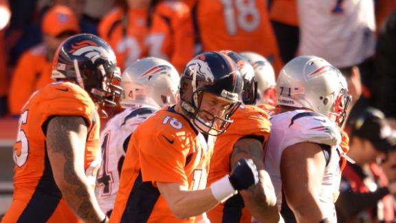 Peyton, Broncos rip Pats to reach Super Bowl