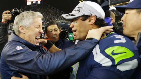 Seahawks hold off Niners, reach Super Bowl