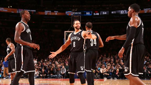 Melo on loss to Nets: 'We didn't even fight'