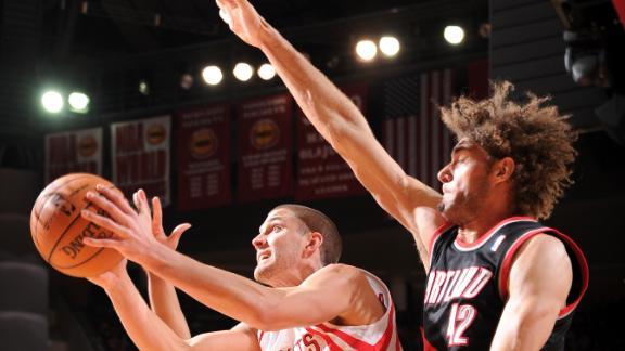 Parsons, Rockets end Blazers' winning streak