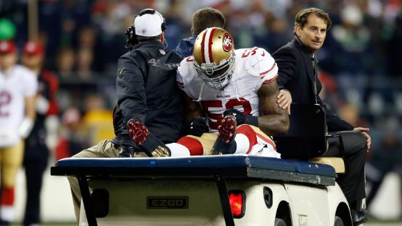 Harbaugh: Bowman faces 'grueling' rehab