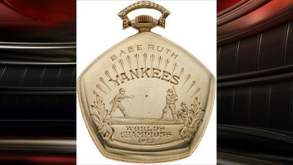 Ruth's '23 World Series watch up for auction