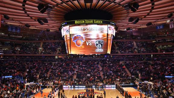 Forbes: Knicks NBA's most valuable team