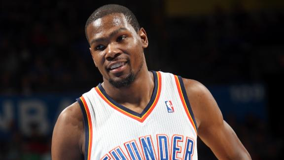 NBA: Coast to Coast -- How high can Kevin Durant climb?