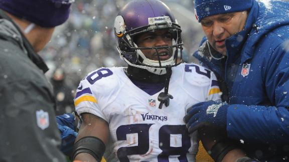 Vikes' Peterson undergoes groin surgery