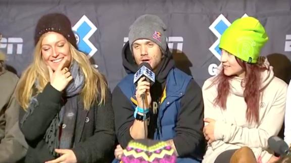 X Games Aspen Press Conference