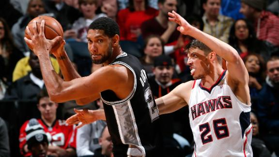 Video - Duncan's Double-Double Fuels Spurs