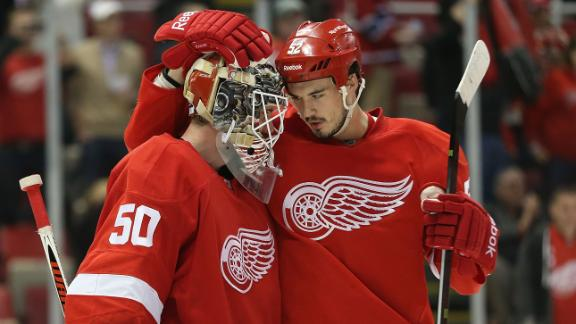 Video - Red Wings Skate Past Canadiens