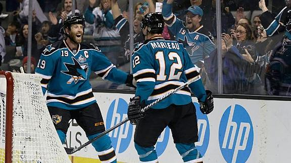 Sharks sign Marleau, Thornton to extensions