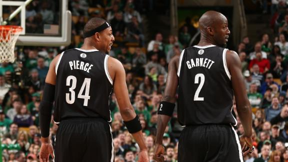 Nets top Celtics as Pierce, Garnett return