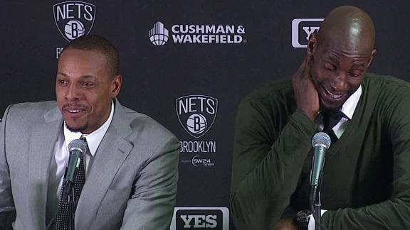 Pierce, KG: Boston return 'toughest game'