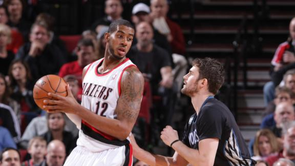 Blazers top Wolves, equal last season's wins